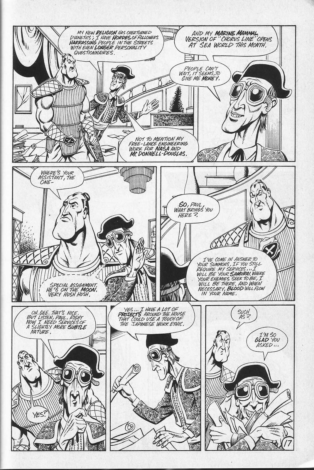 Read online Paul the Samurai (1991) comic -  Issue # TPB - 83