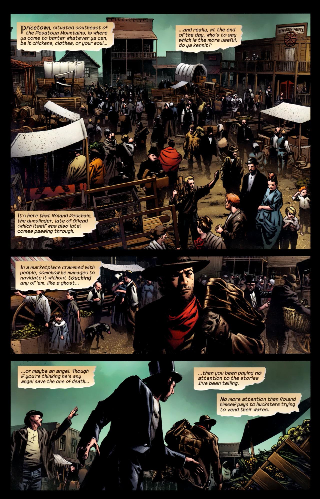 Read online Dark Tower: The Gunslinger - The Battle of Tull comic -  Issue #1 - 5