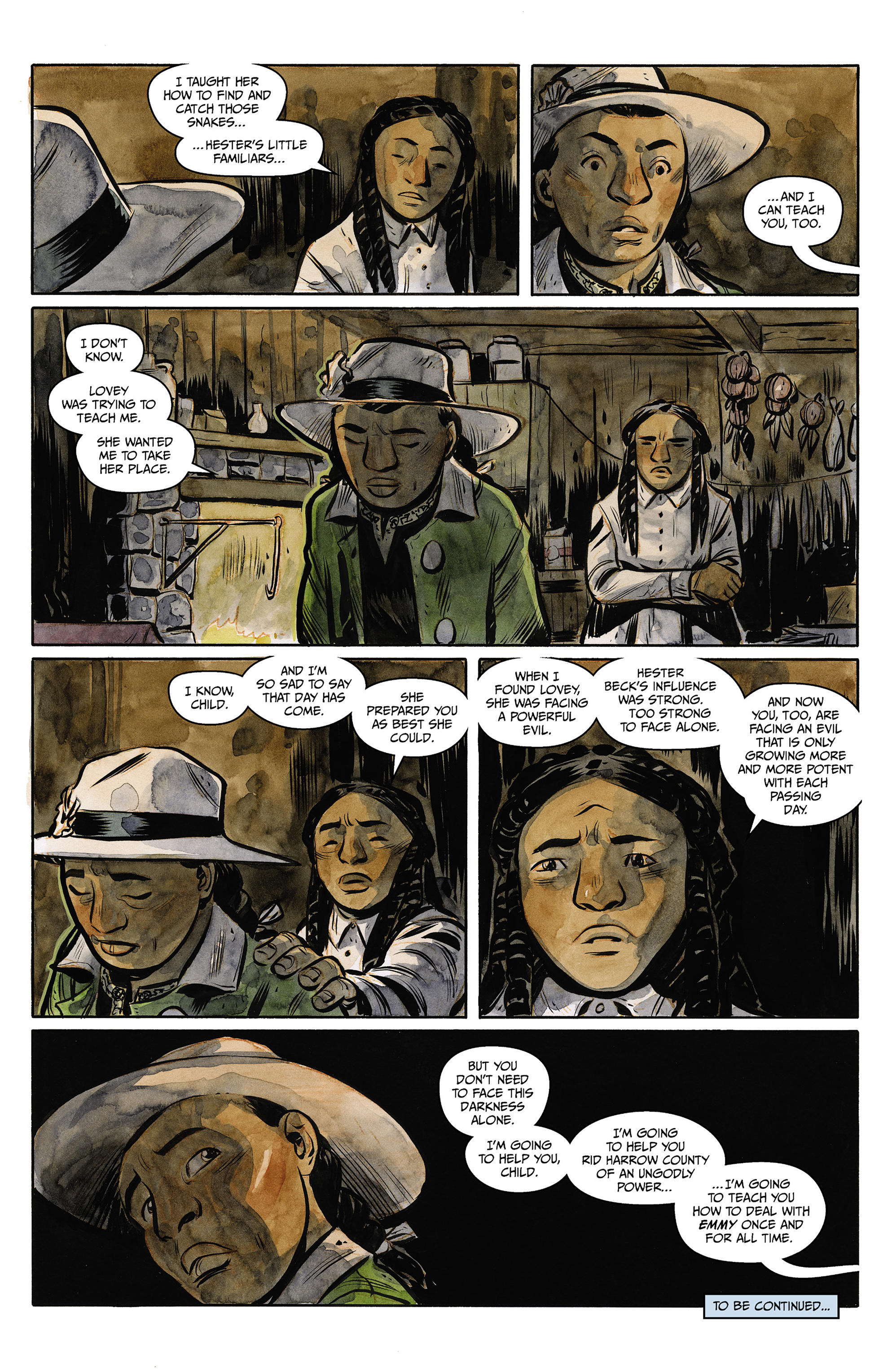 Read online Harrow County comic -  Issue #23 - 23