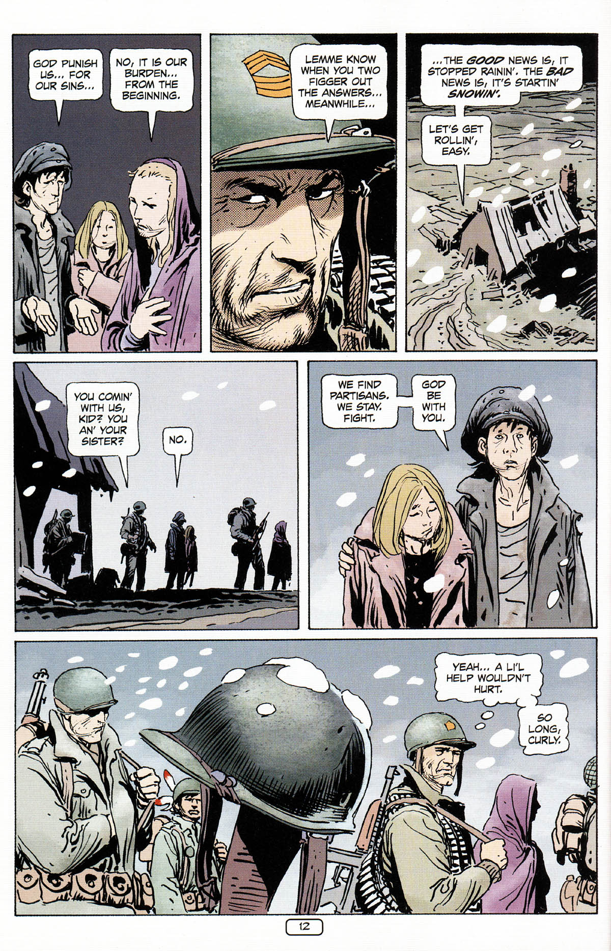 Read online Sgt. Rock: The Prophecy comic -  Issue #3 - 13