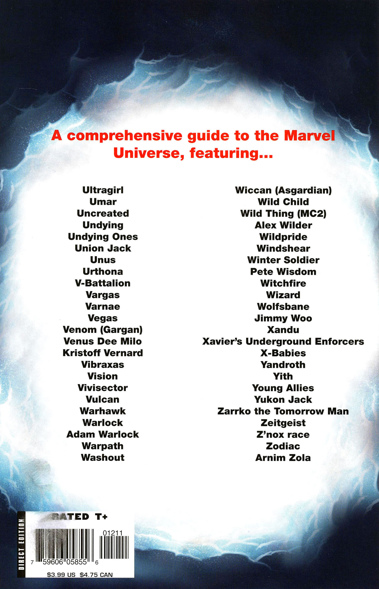 Read online All-New Official Handbook of the Marvel Universe A to Z comic -  Issue #12 - 67