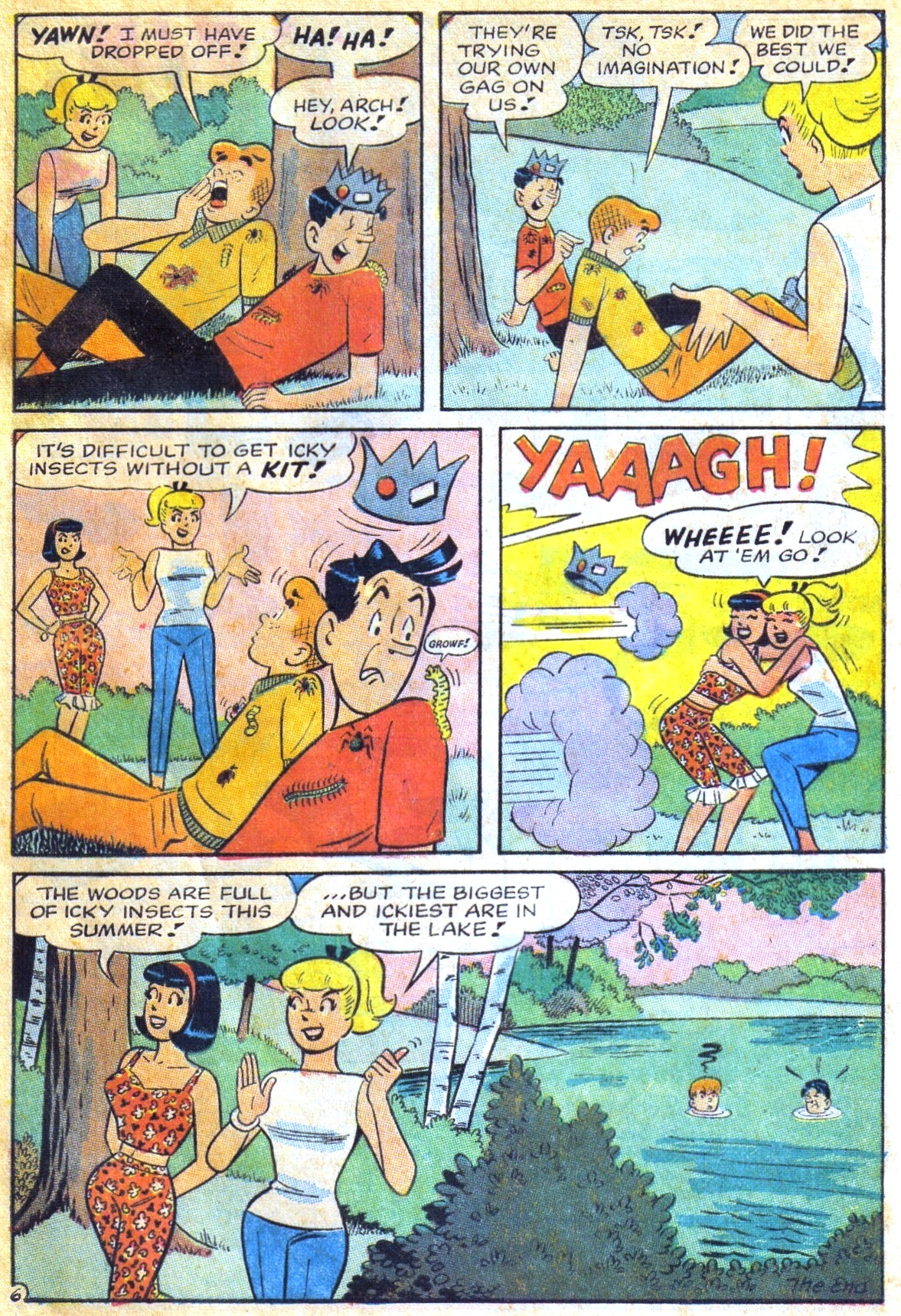 Read online Archie (1960) comic -  Issue #168 - 33