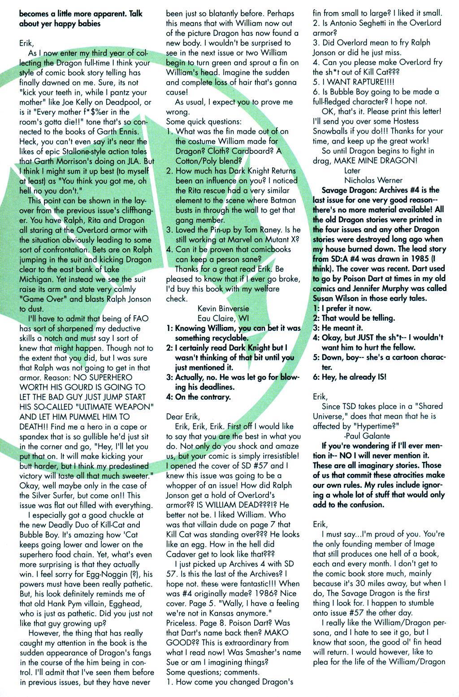 The Savage Dragon (1993) Issue #59 #62 - English 26