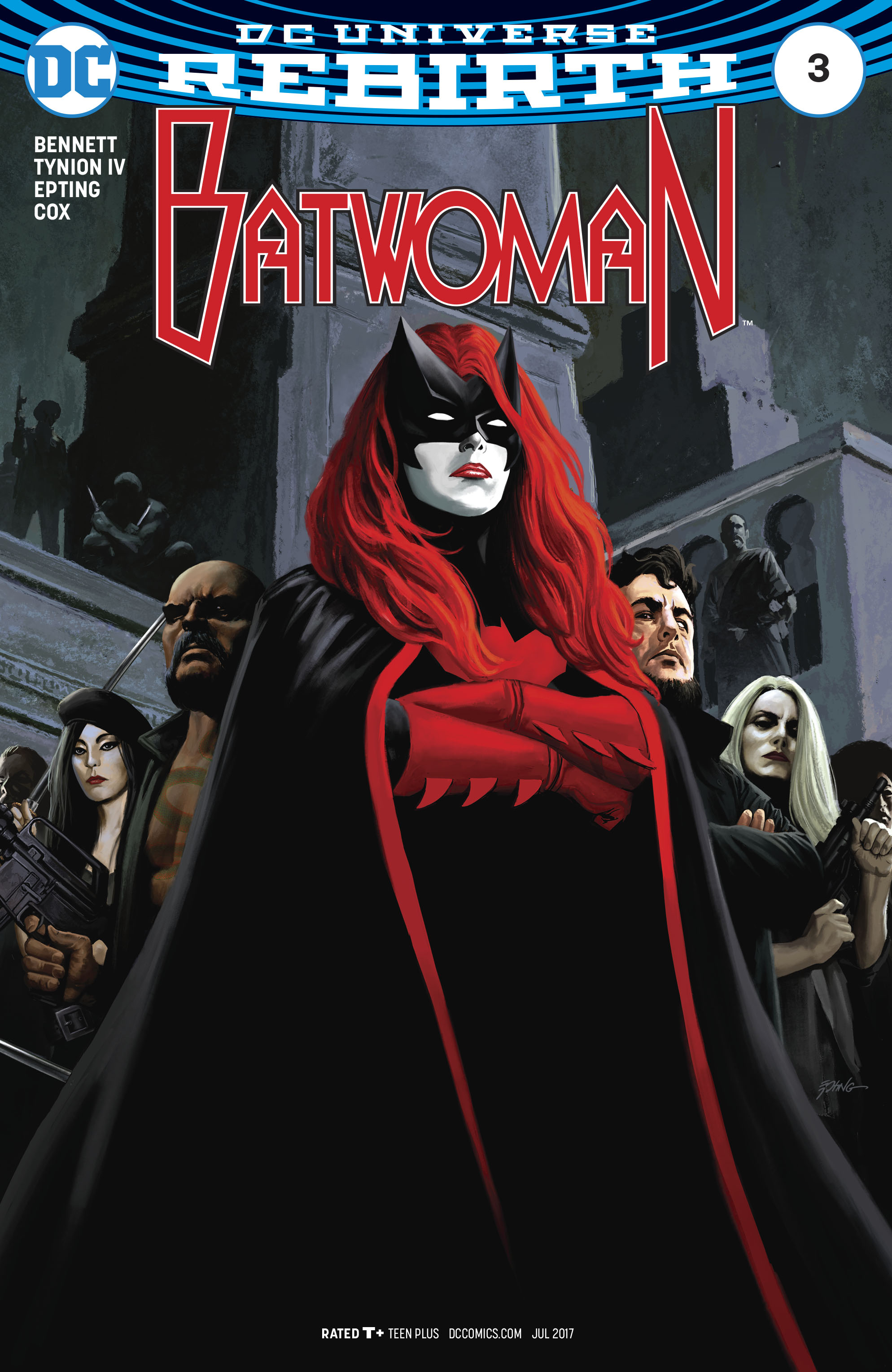 Read online Batwoman (2017) comic -  Issue #3 - 1