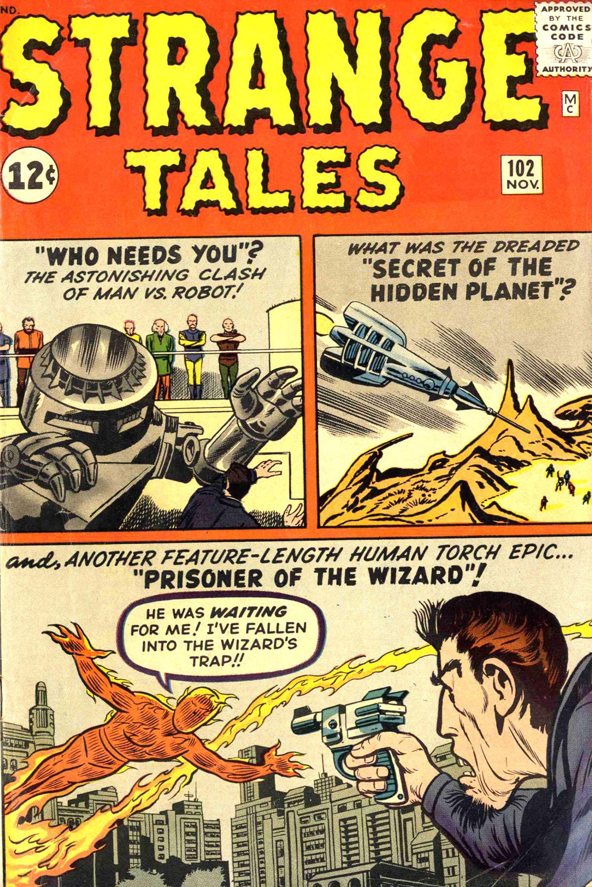 Strange Tales (1951) 102 Page 1