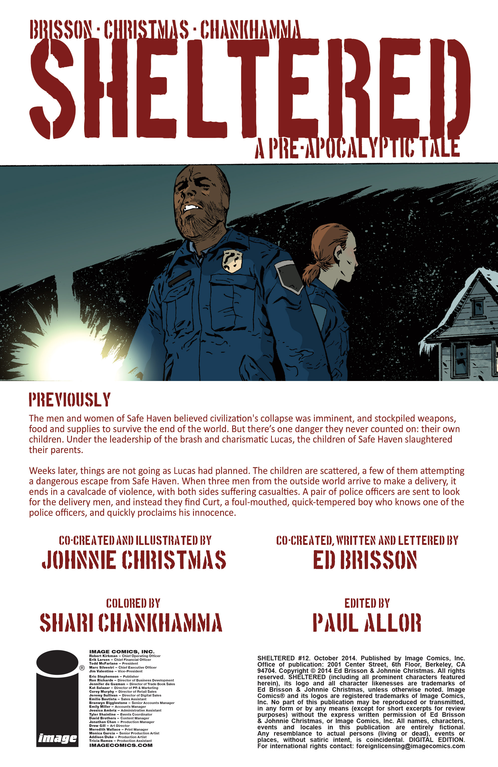 Read online Sheltered comic -  Issue #12 - 2