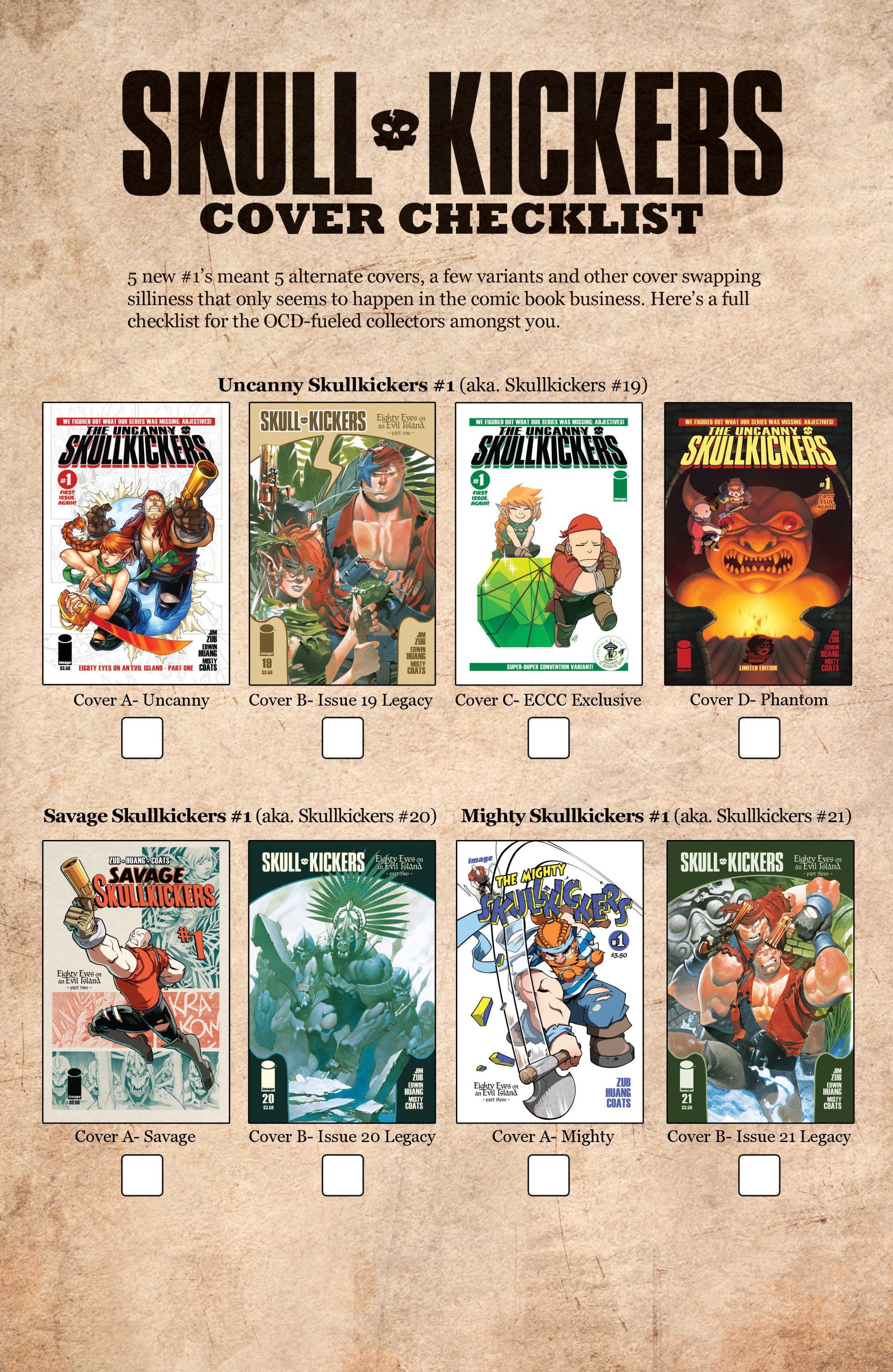 Read online Skullkickers comic -  Issue #23 - 25