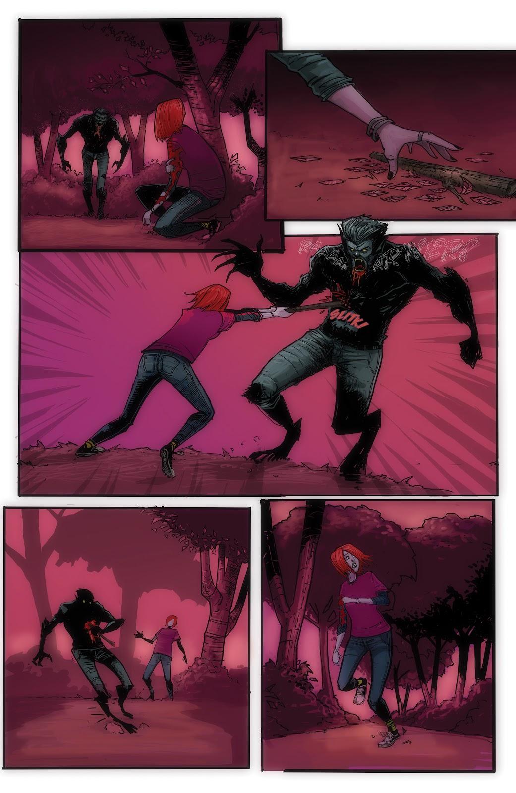 Read online John Carpenter Presents Storm Kids: Monica Bleue: A Werewolf Story comic -  Issue #1 - 23