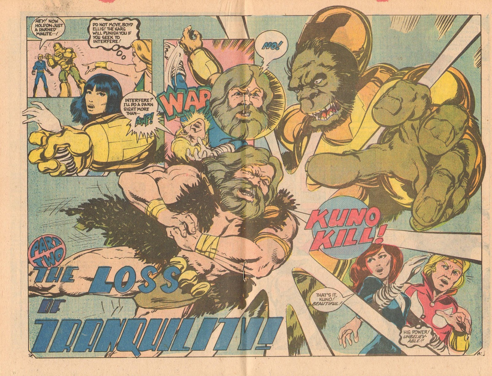 Read online Doomsday   1 (1975) comic -  Issue #12 - 18