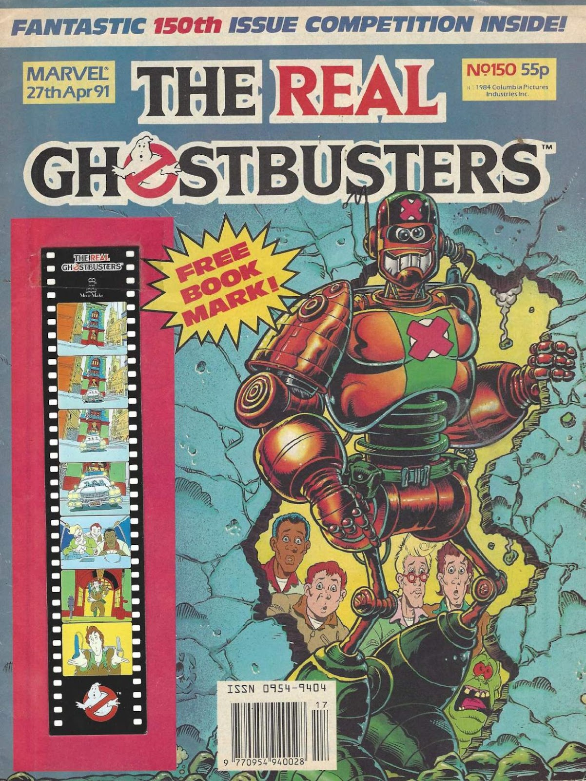 The Real Ghostbusters 150 Page 1