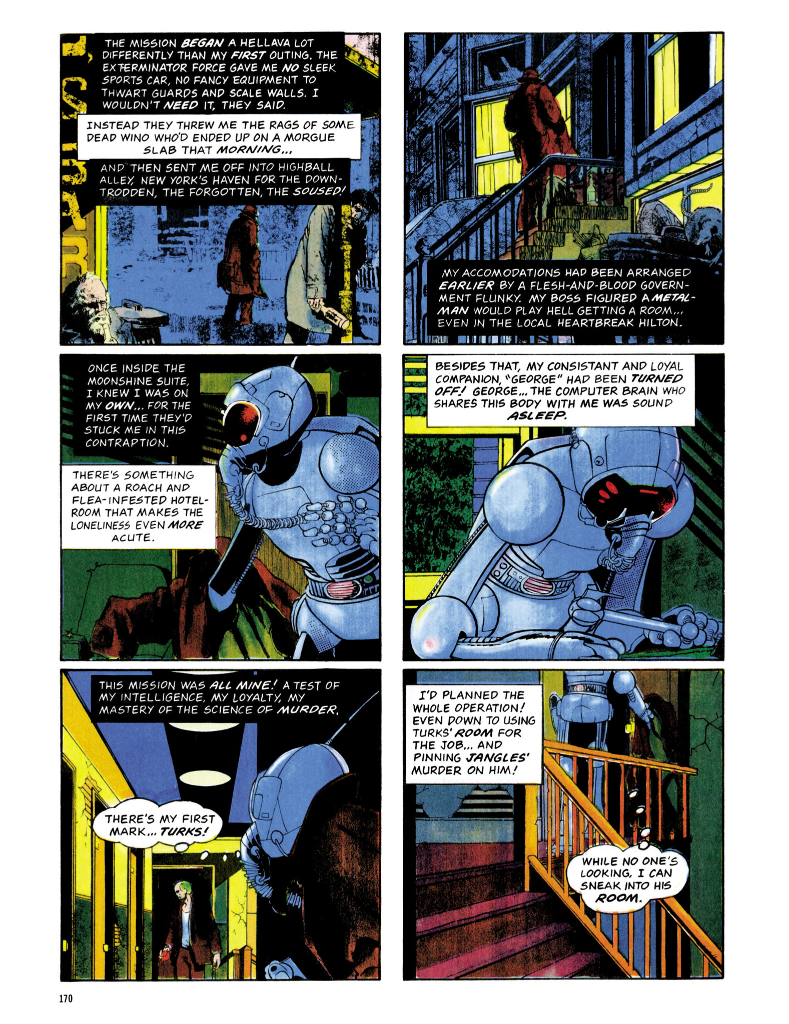 Read online Eerie Archives comic -  Issue # TPB 13 - 171