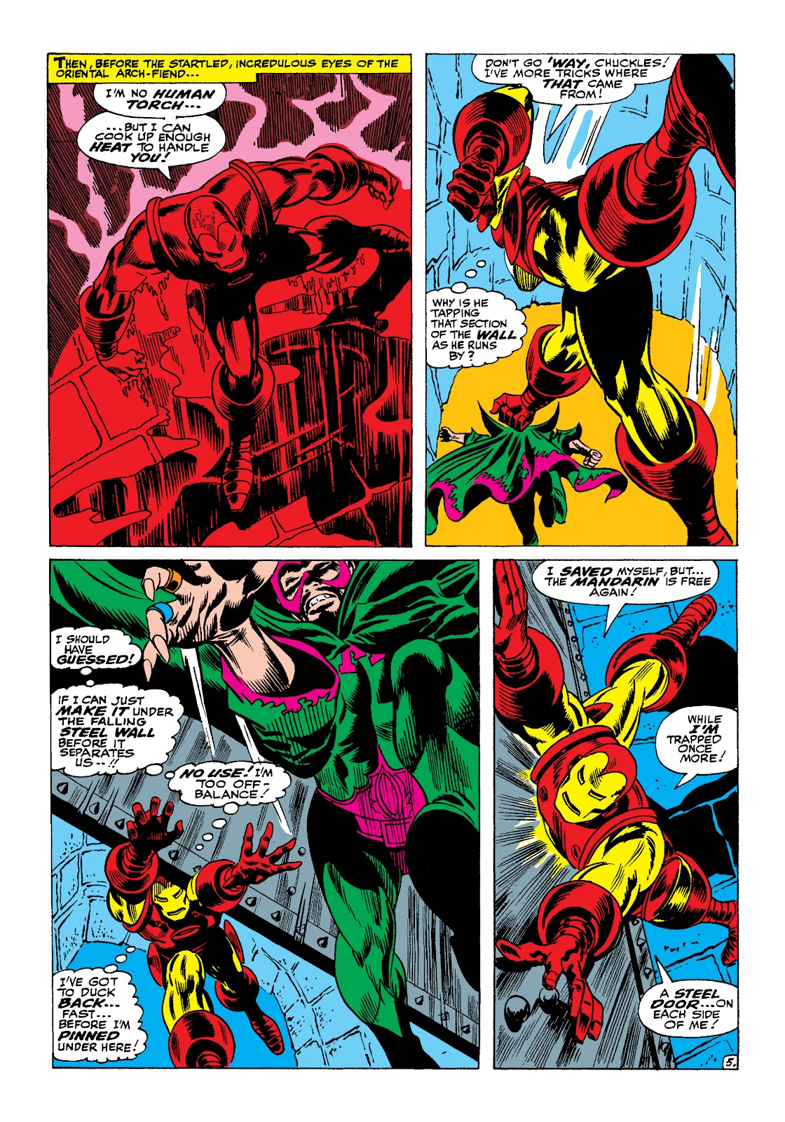 Read online Marvel Masterworks: The Invincible Iron Man comic -  Issue # TPB 4 (Part 1) - 37