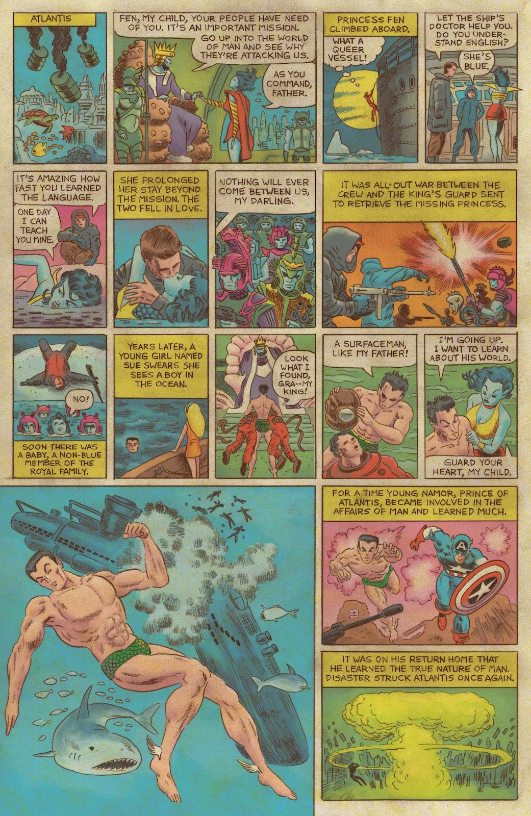 Read online Fantastic Four: Grand Design comic -  Issue #1 - 10