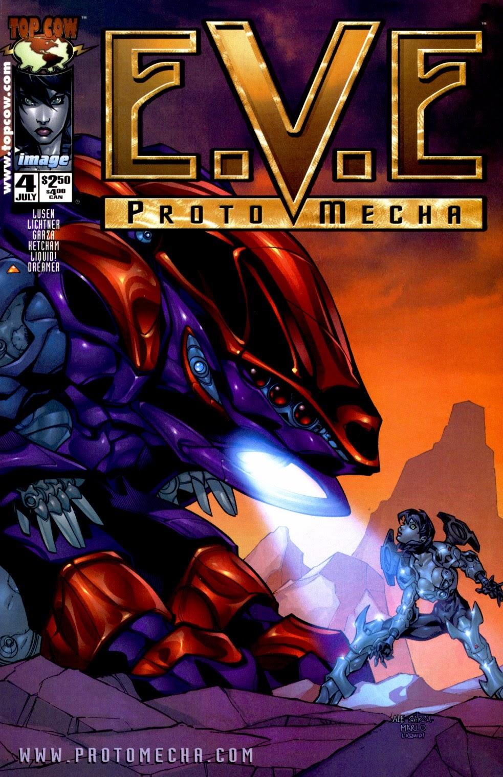 E.V.E. ProtoMecha issue 4 - Page 1