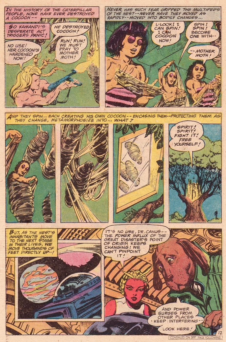 Kamandi, The Last Boy On Earth issue 54 - Page 14