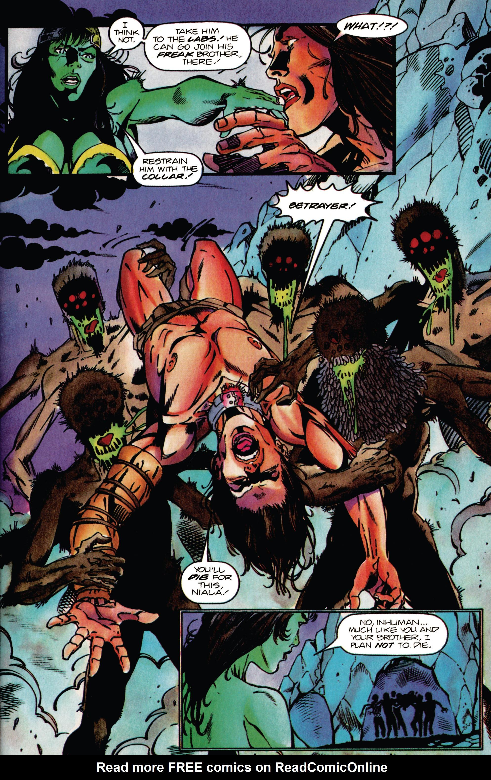 Read online Eternal Warrior (1992) comic -  Issue #38 - 7