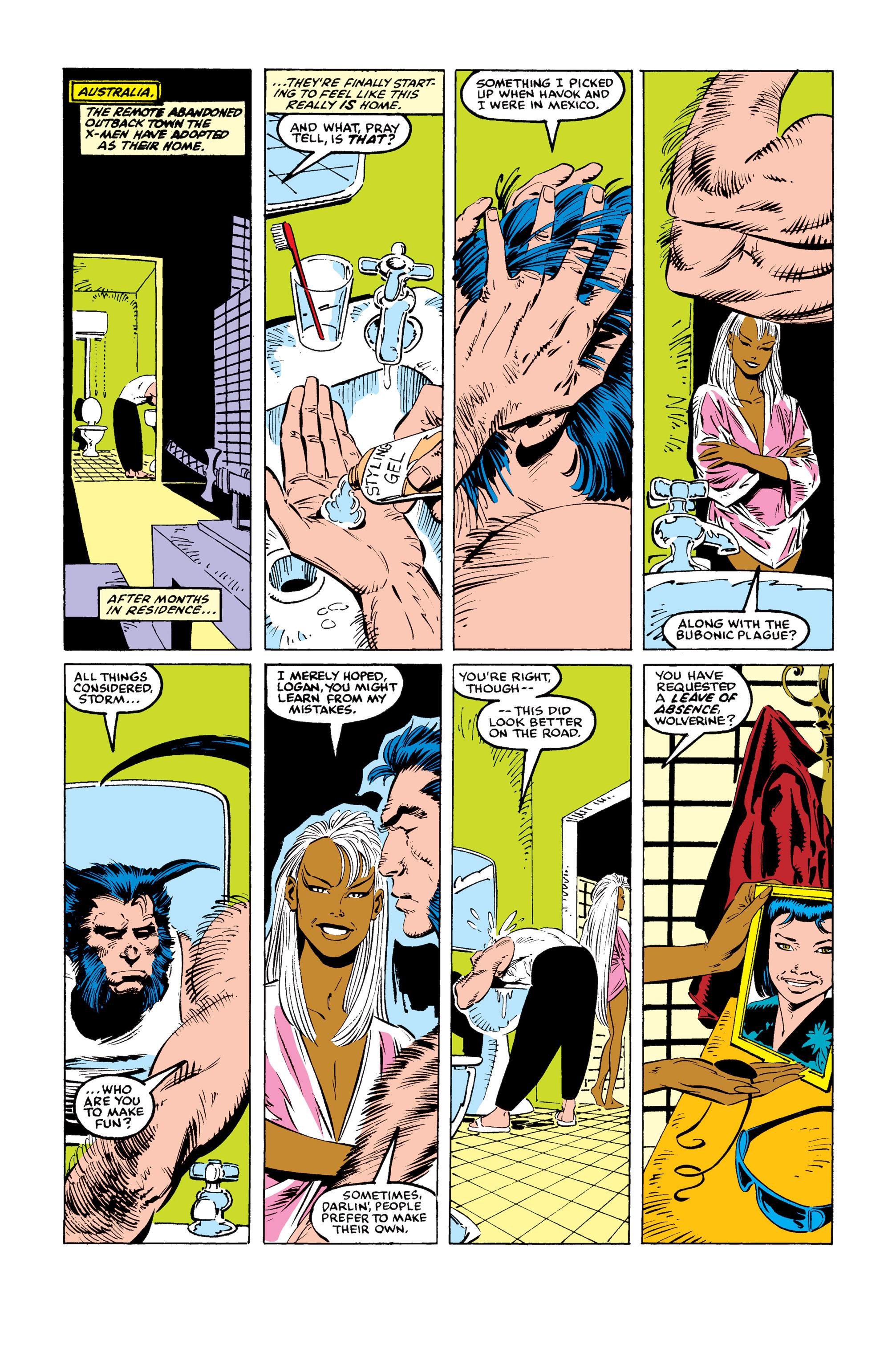 Read online Uncanny X-Men (1963) comic -  Issue #246 - 8