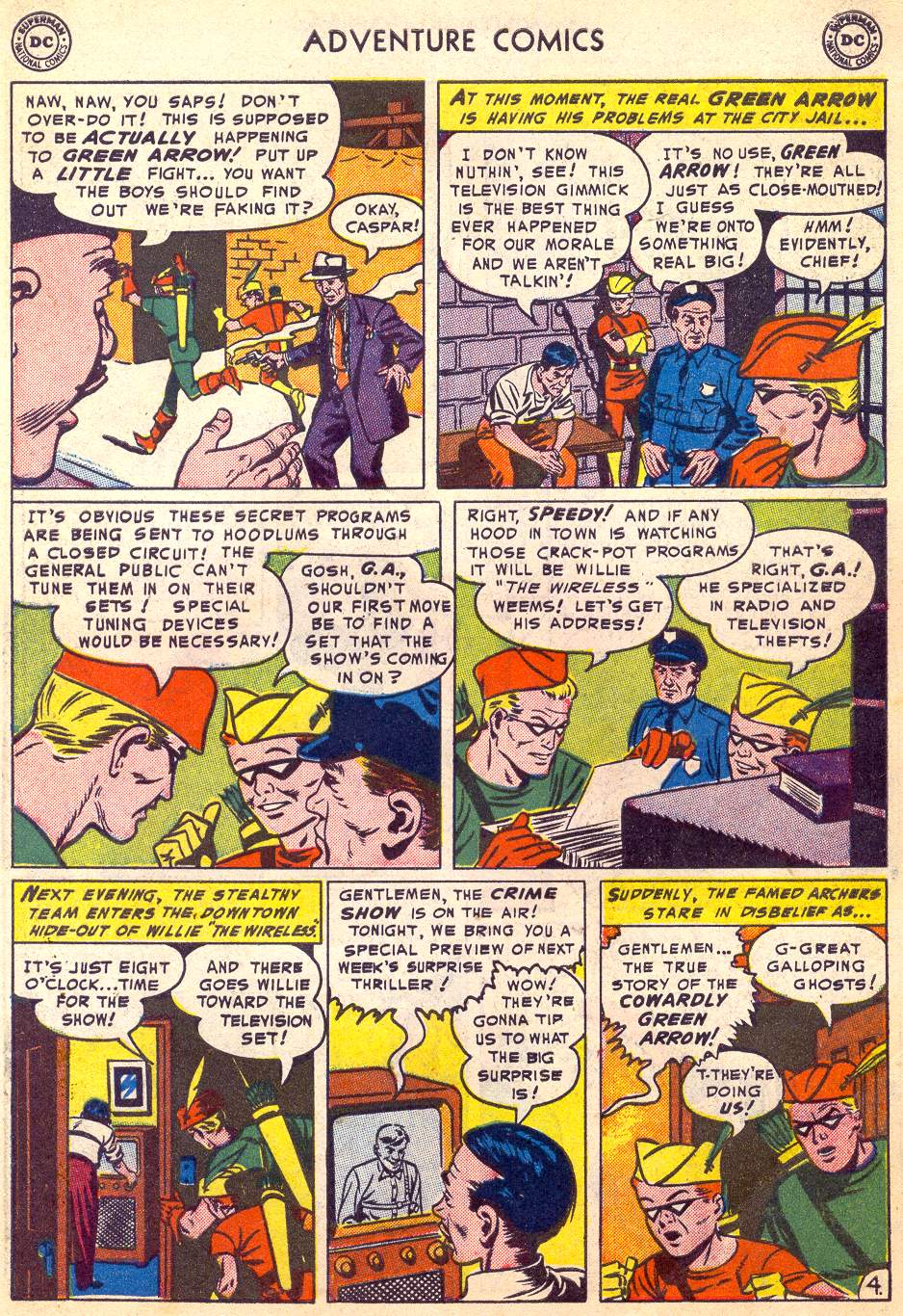 Read online Adventure Comics (1938) comic -  Issue #197 - 37