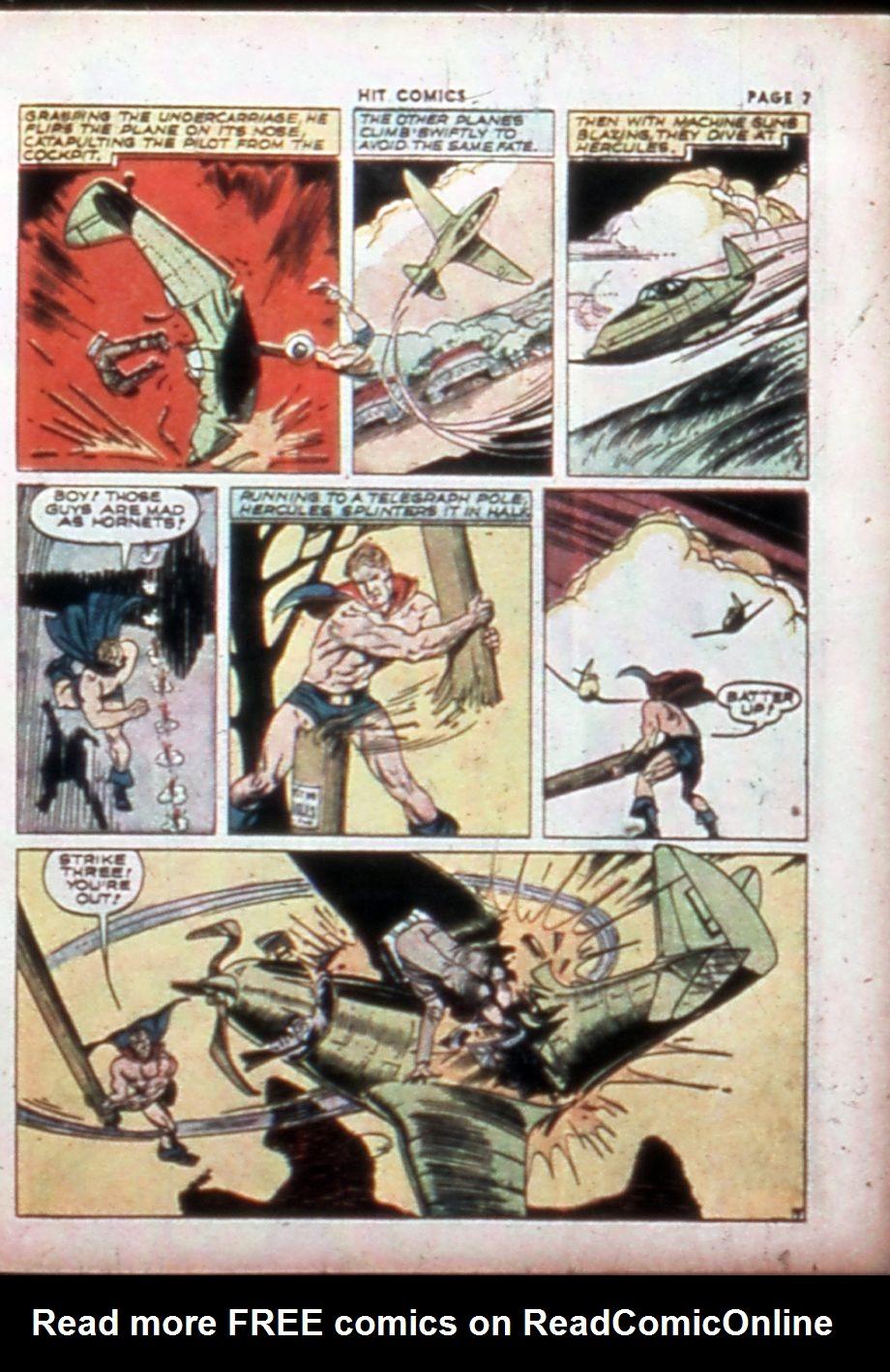 Read online Hit Comics comic -  Issue #14 - 9