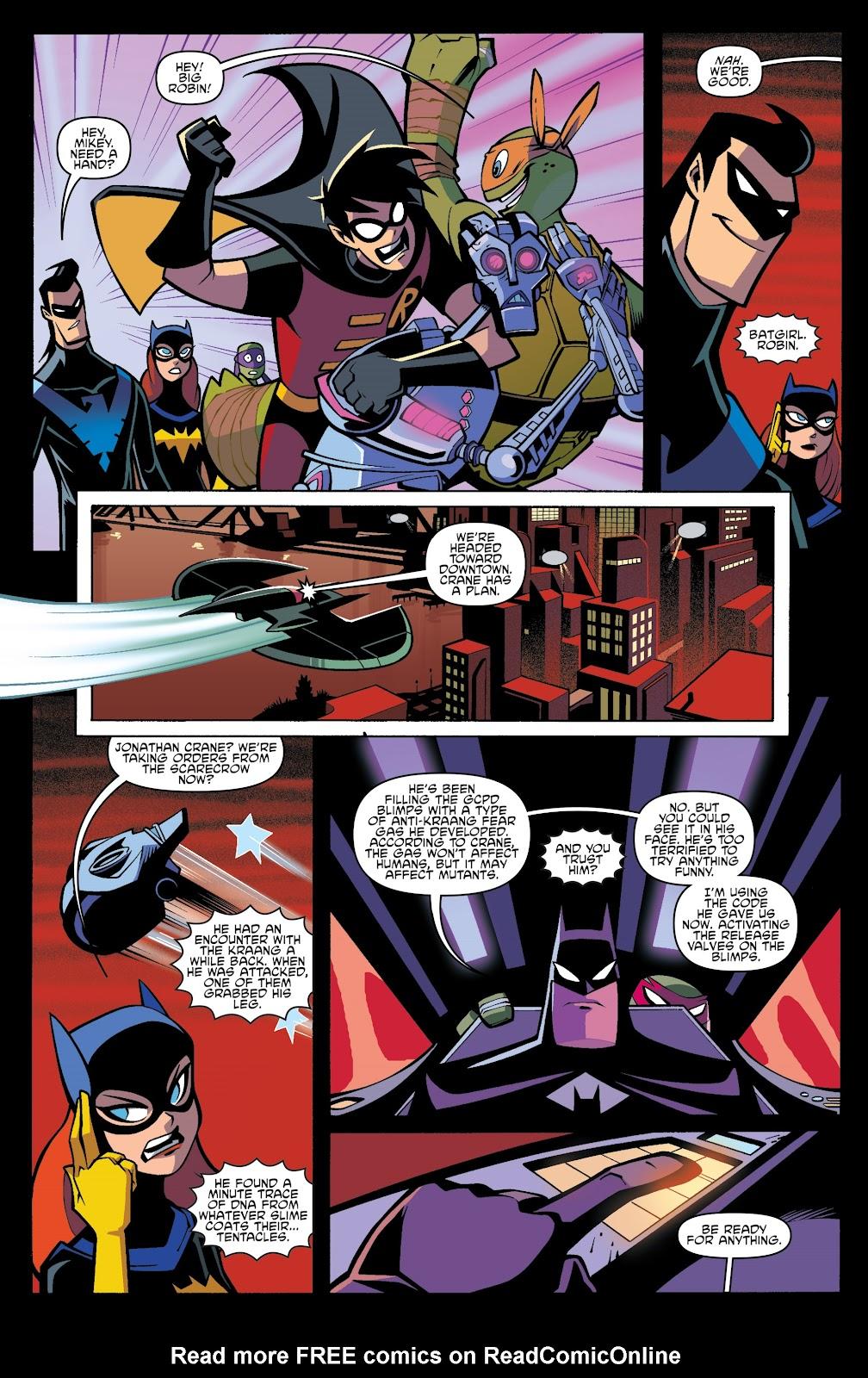batman teenage mutant ninja turtles adventure issue 6. Black Bedroom Furniture Sets. Home Design Ideas