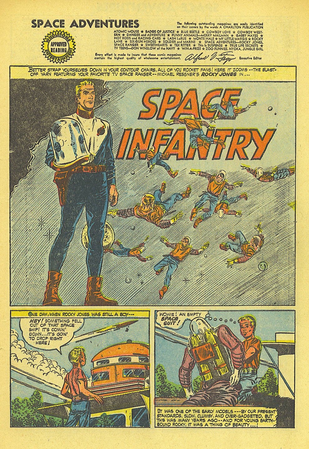 Read online Space Adventures comic -  Issue #15 - 2
