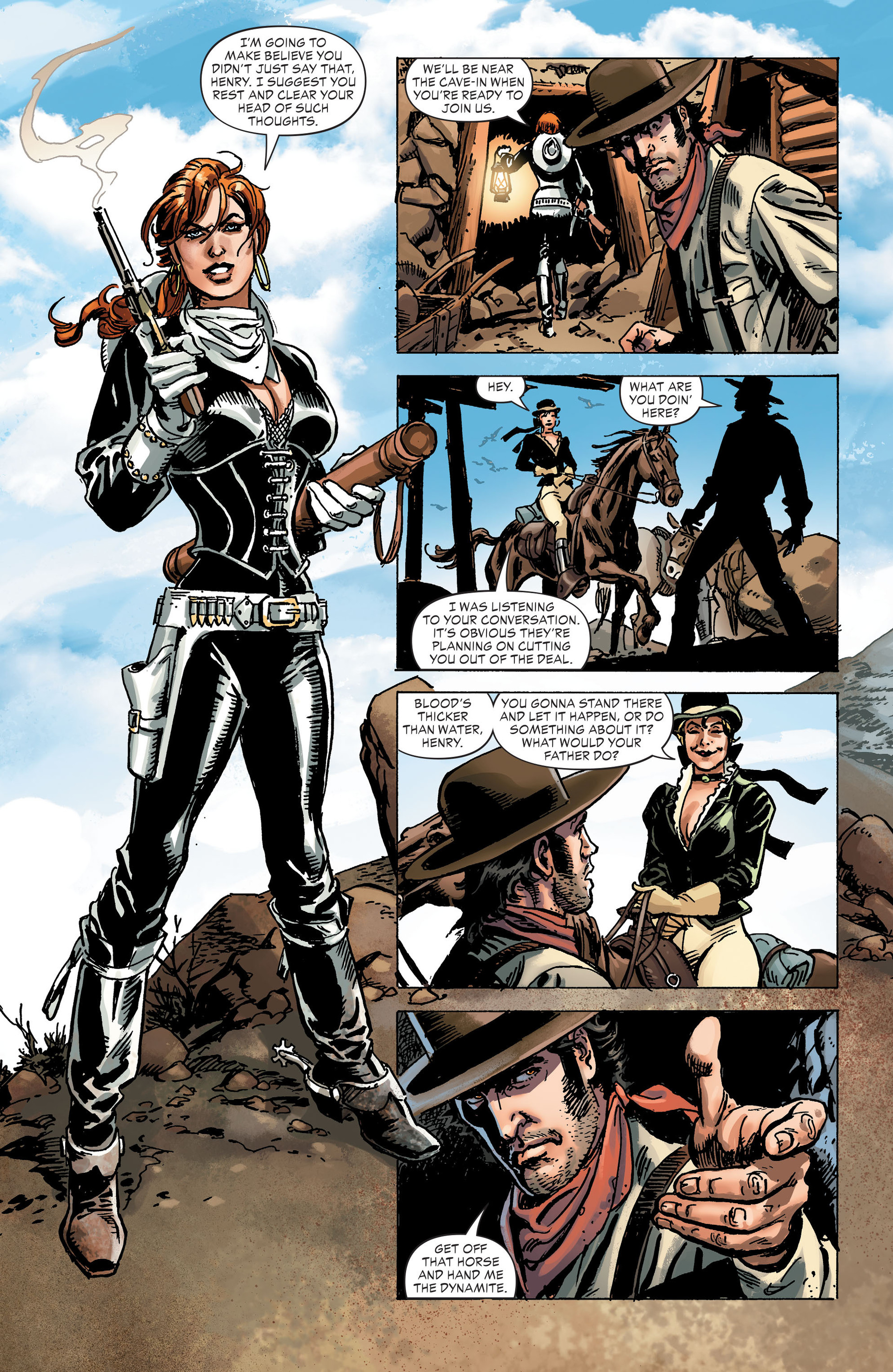 Read online All-Star Western (2011) comic -  Issue #30 - 19