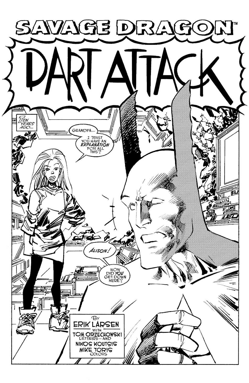 Read online Savage Dragon Archives comic -  Issue # TPB 6 (Part 5) - 60