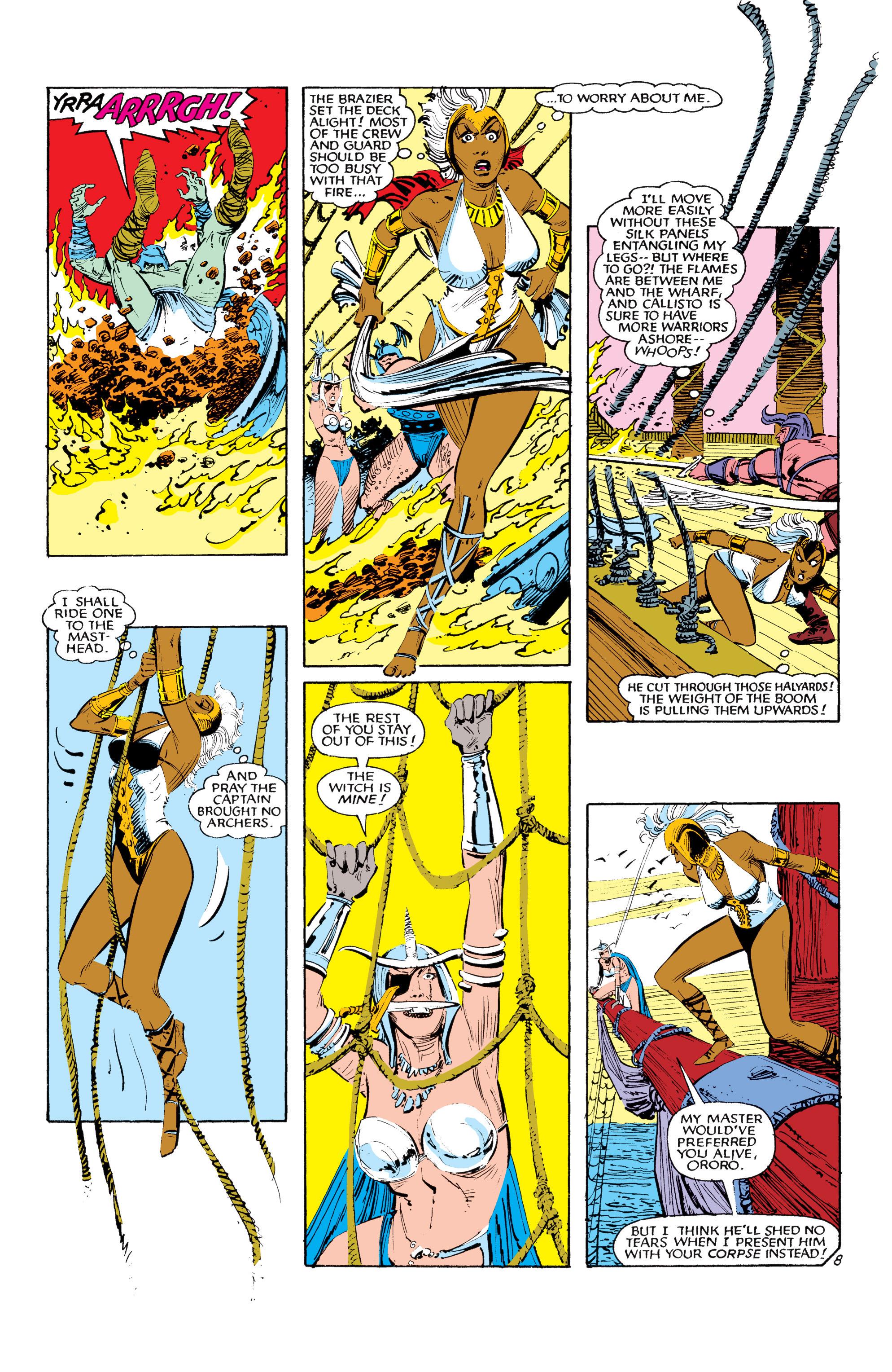 Read online Uncanny X-Men (1963) comic -  Issue #190 - 8