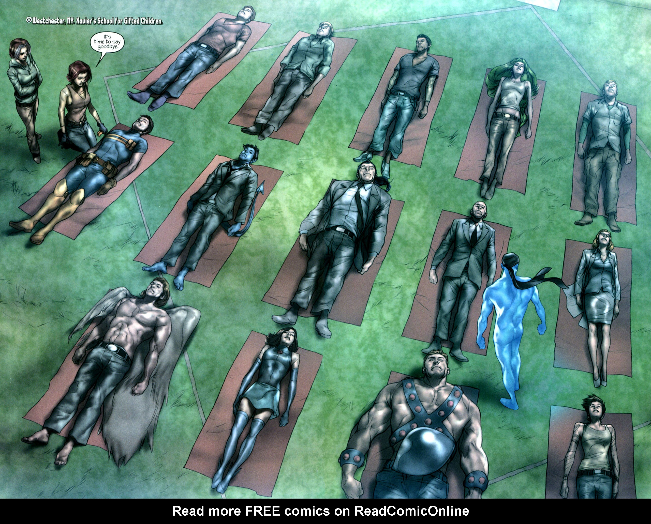 Read online Ultimatum: X-Men Requiem comic -  Issue # Full - 10