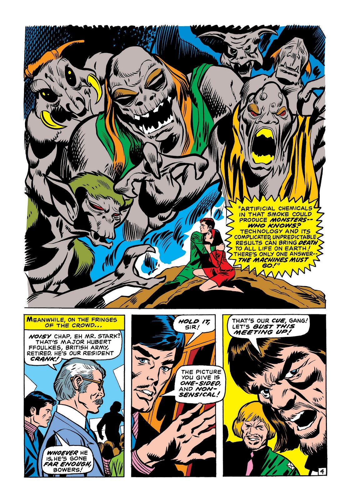 Read online Marvel Masterworks: The Invincible Iron Man comic -  Issue # TPB 7 (Part 2) - 13