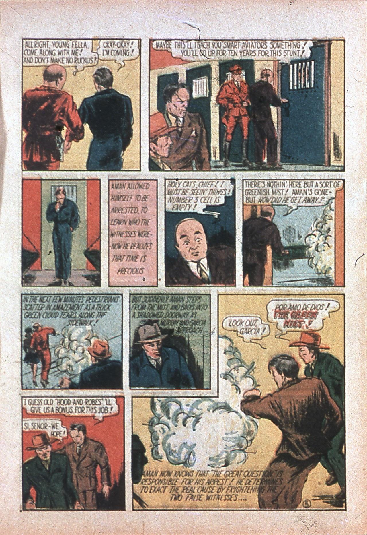 Read online Amazing Man Comics comic -  Issue #7 - 8