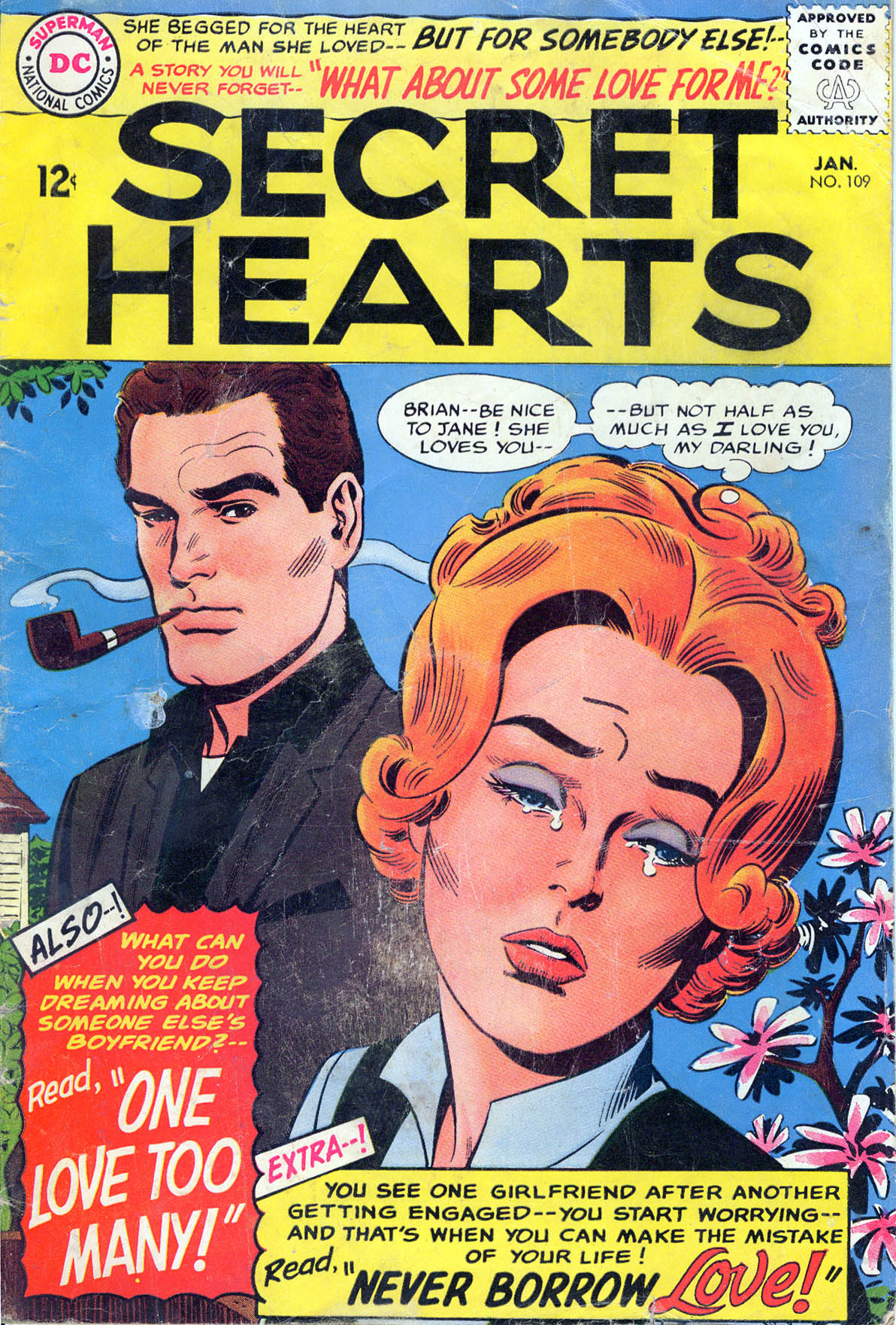 Read online Secret Hearts comic -  Issue #109 - 1