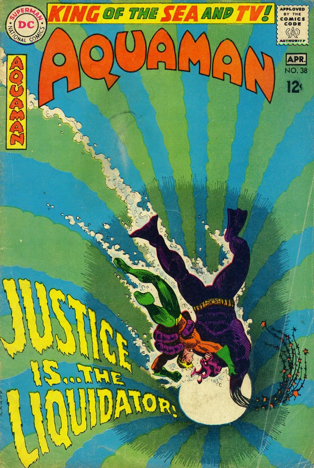 Read online Aquaman (1962) comic -  Issue #38 - 1