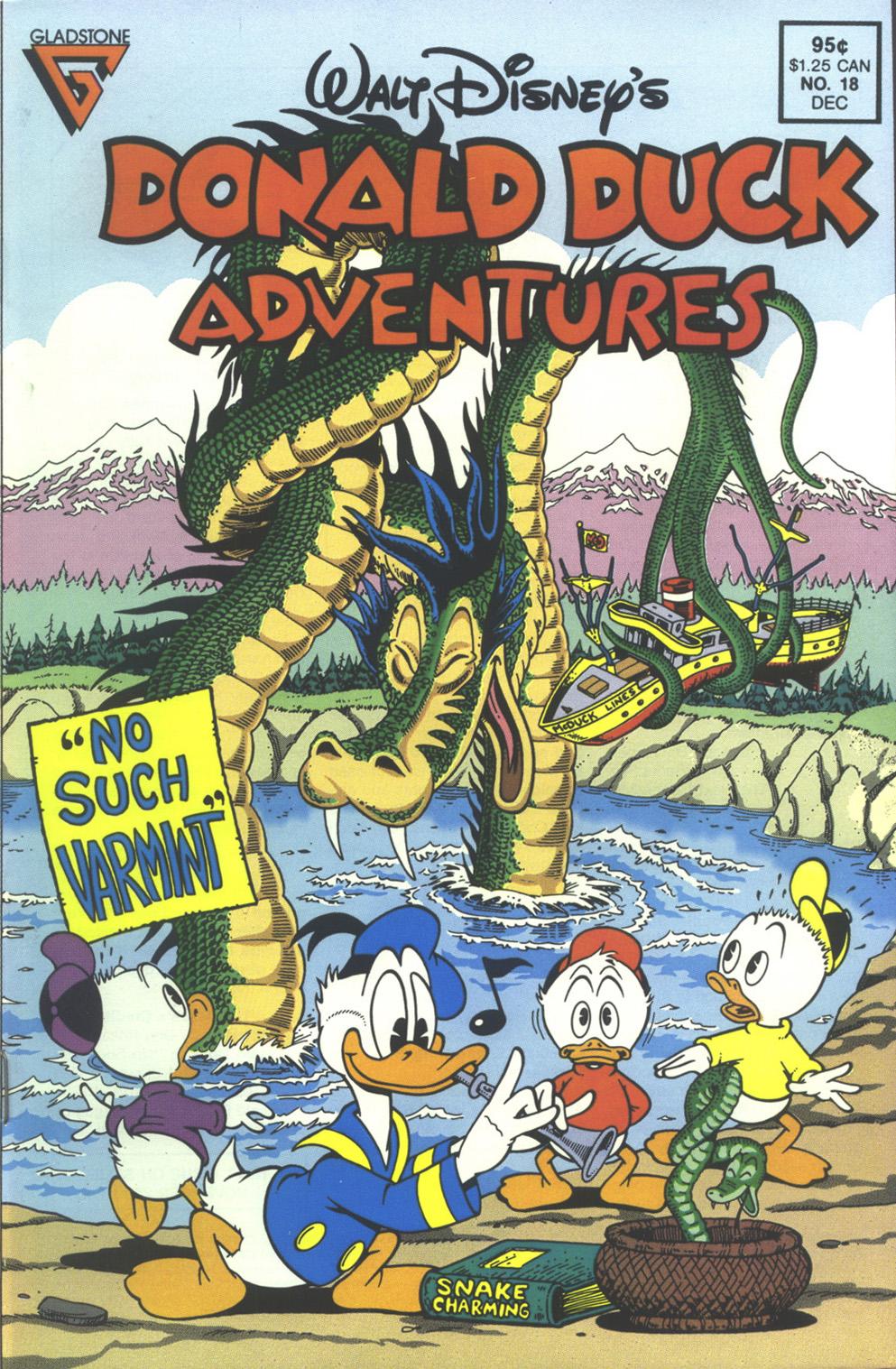 Walt Disney's Donald Duck Adventures (1987) issue 18 - Page 1