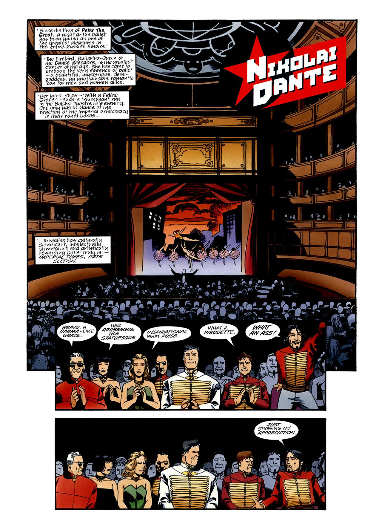 Read online Nikolai Dante comic -  Issue # TPB 3 - 17