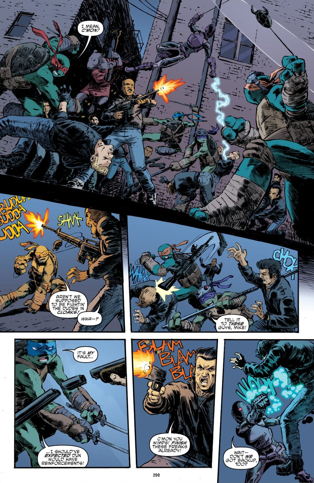 Read online Teenage Mutant Ninja Turtles: The IDW Collection comic -  Issue # TPB 7 (Part 3) - 89