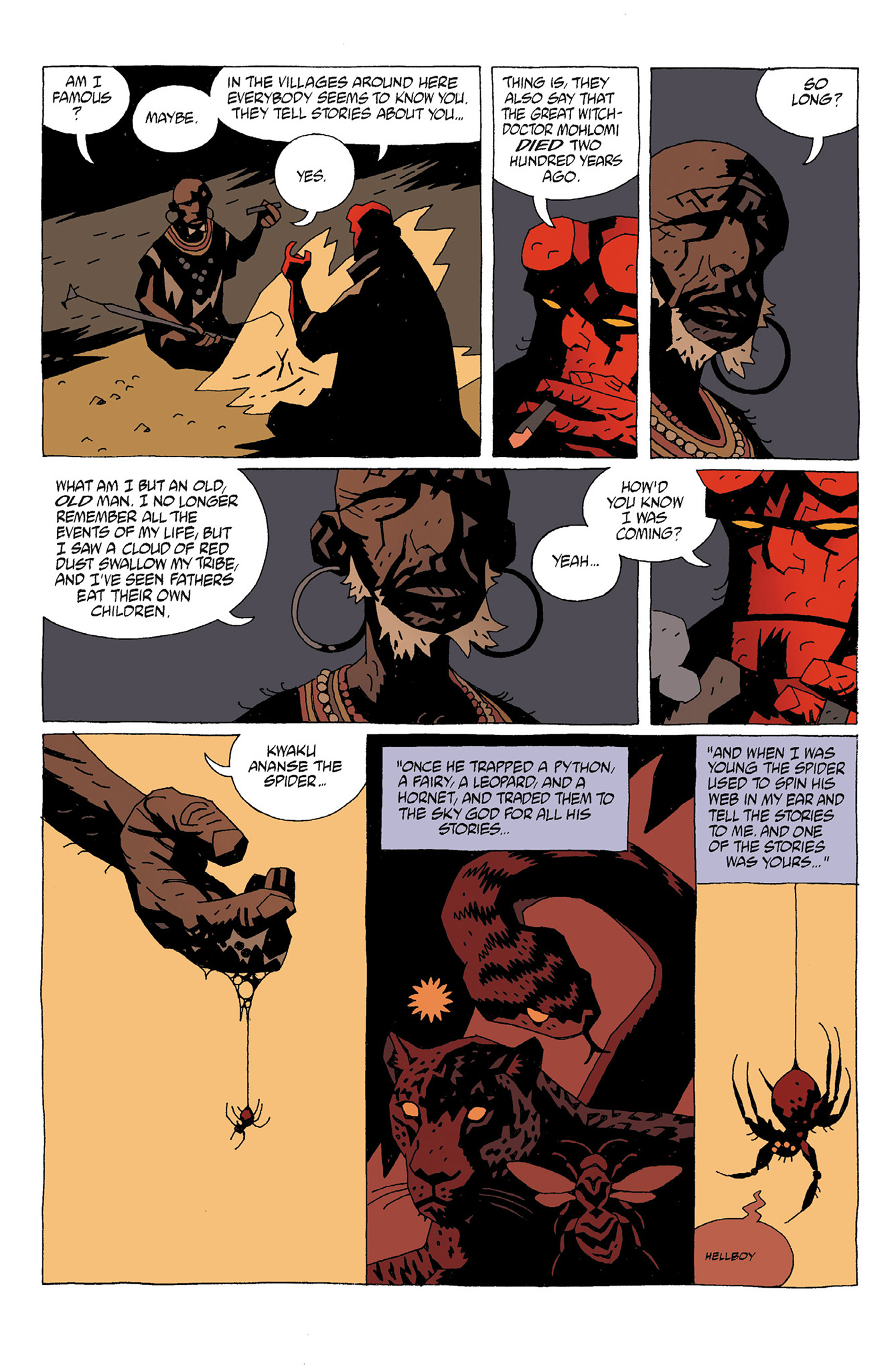 Read online Hellboy: Strange Places comic -  Issue # TPB - 12