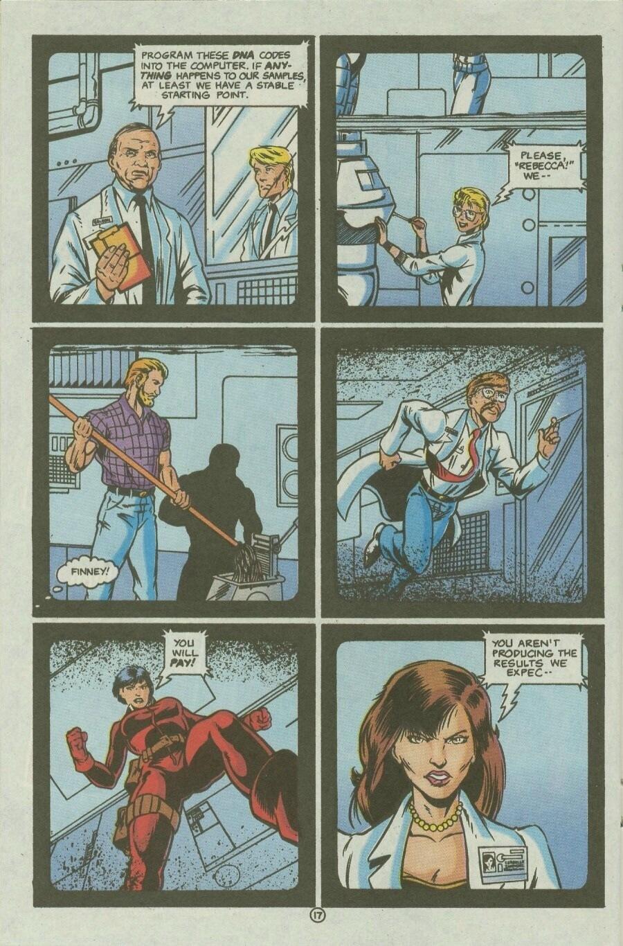 Read online Ex-Mutants comic -  Issue #10 - 21