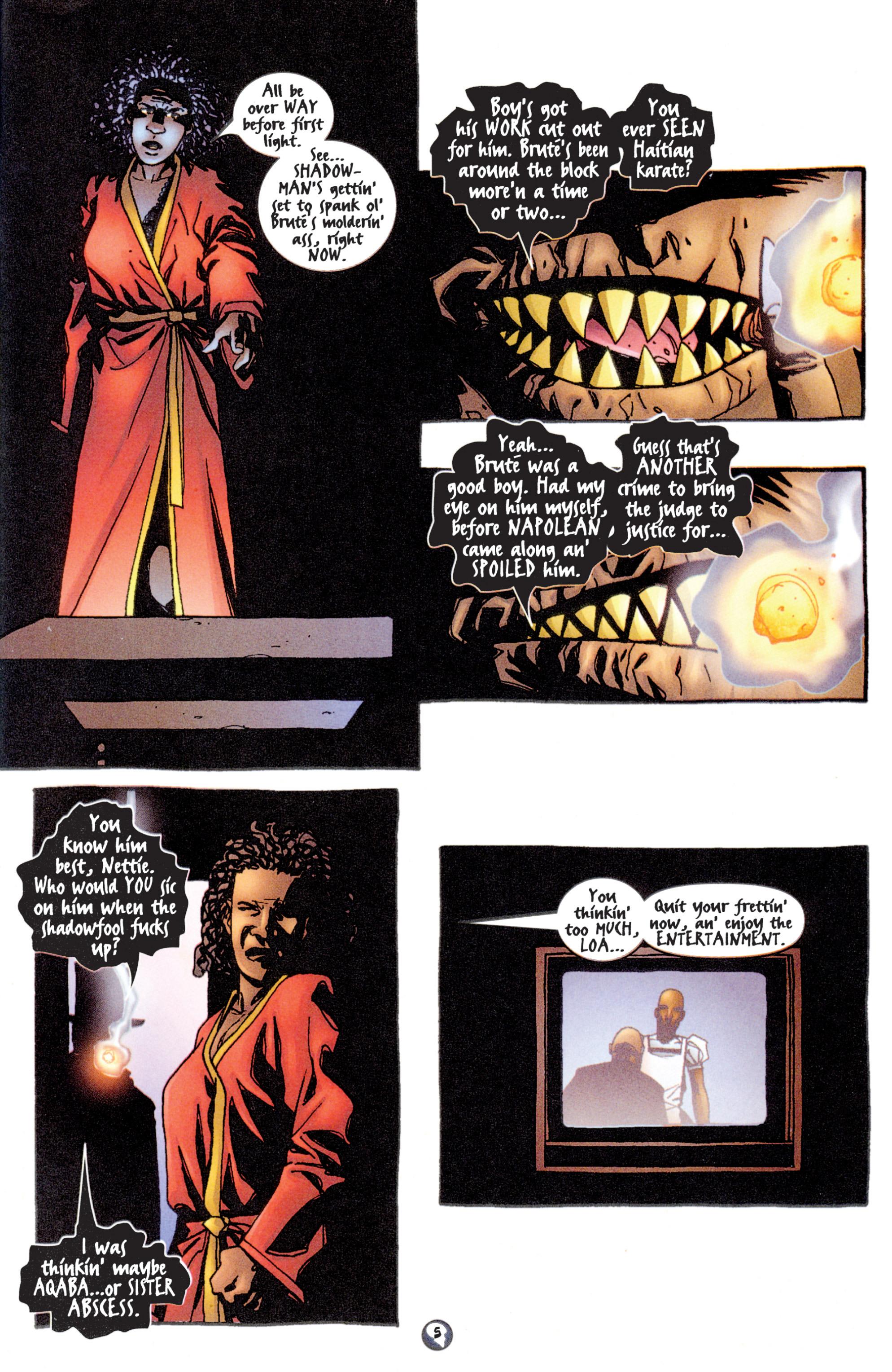 Read online Shadowman (1997) comic -  Issue #14 - 6