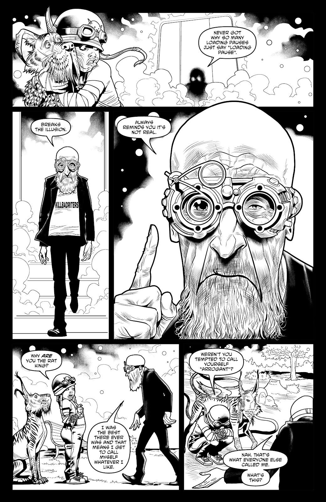 Read online Alan Moore's Cinema Purgatorio comic -  Issue #18 - 26