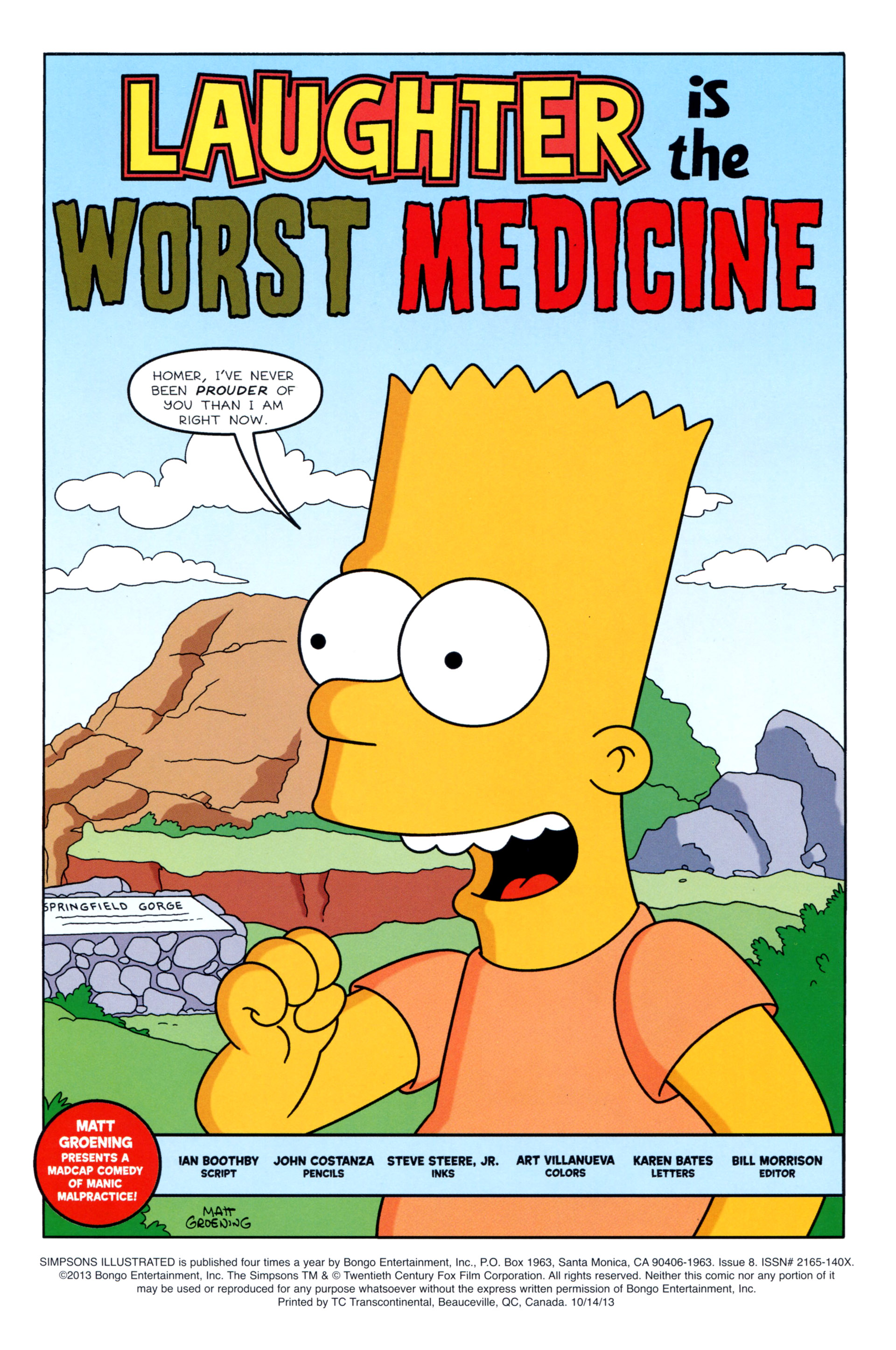 Read online Simpsons Illustrated (2012) comic -  Issue #8 - 3