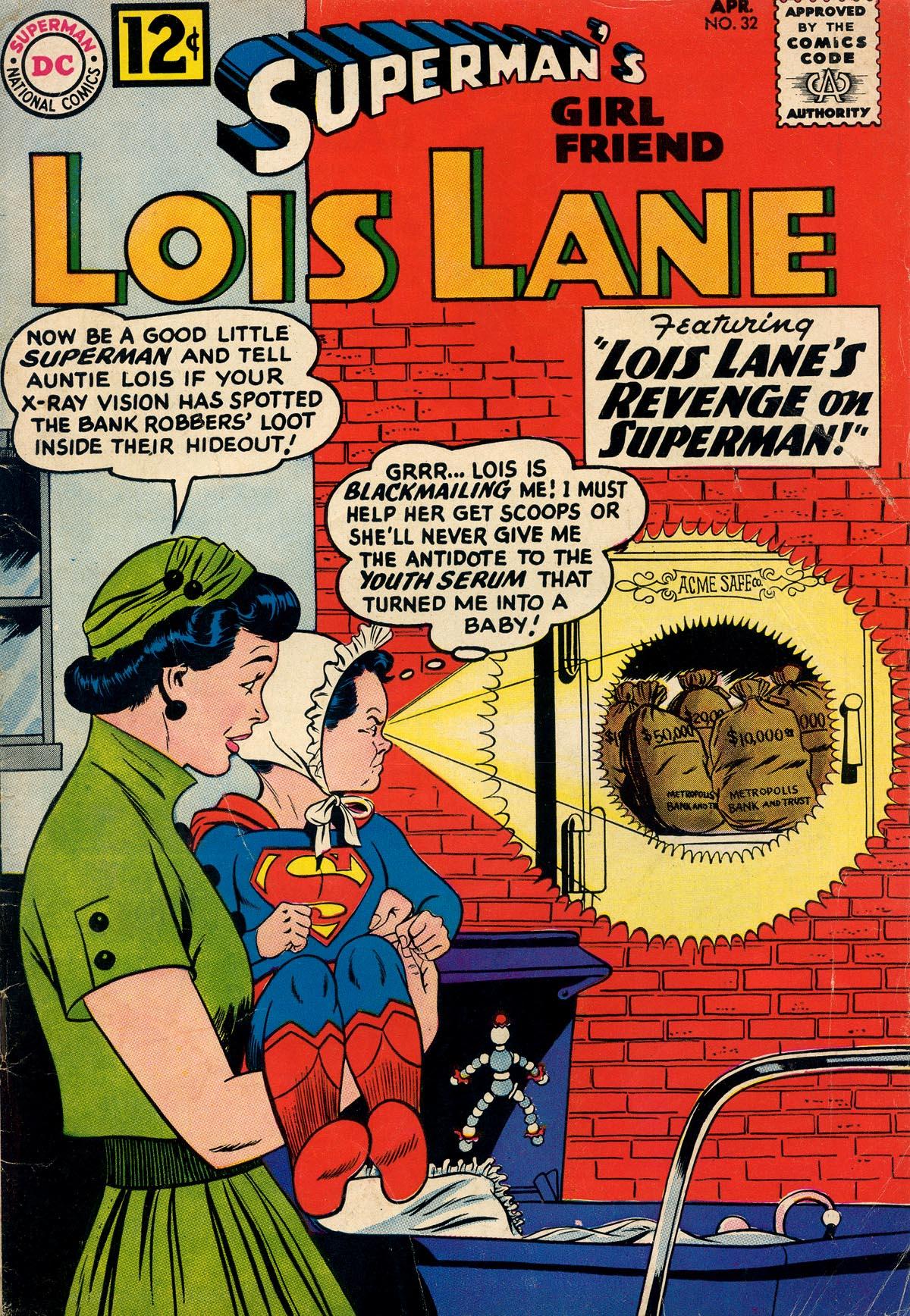 Supermans Girl Friend, Lois Lane 32 Page 1
