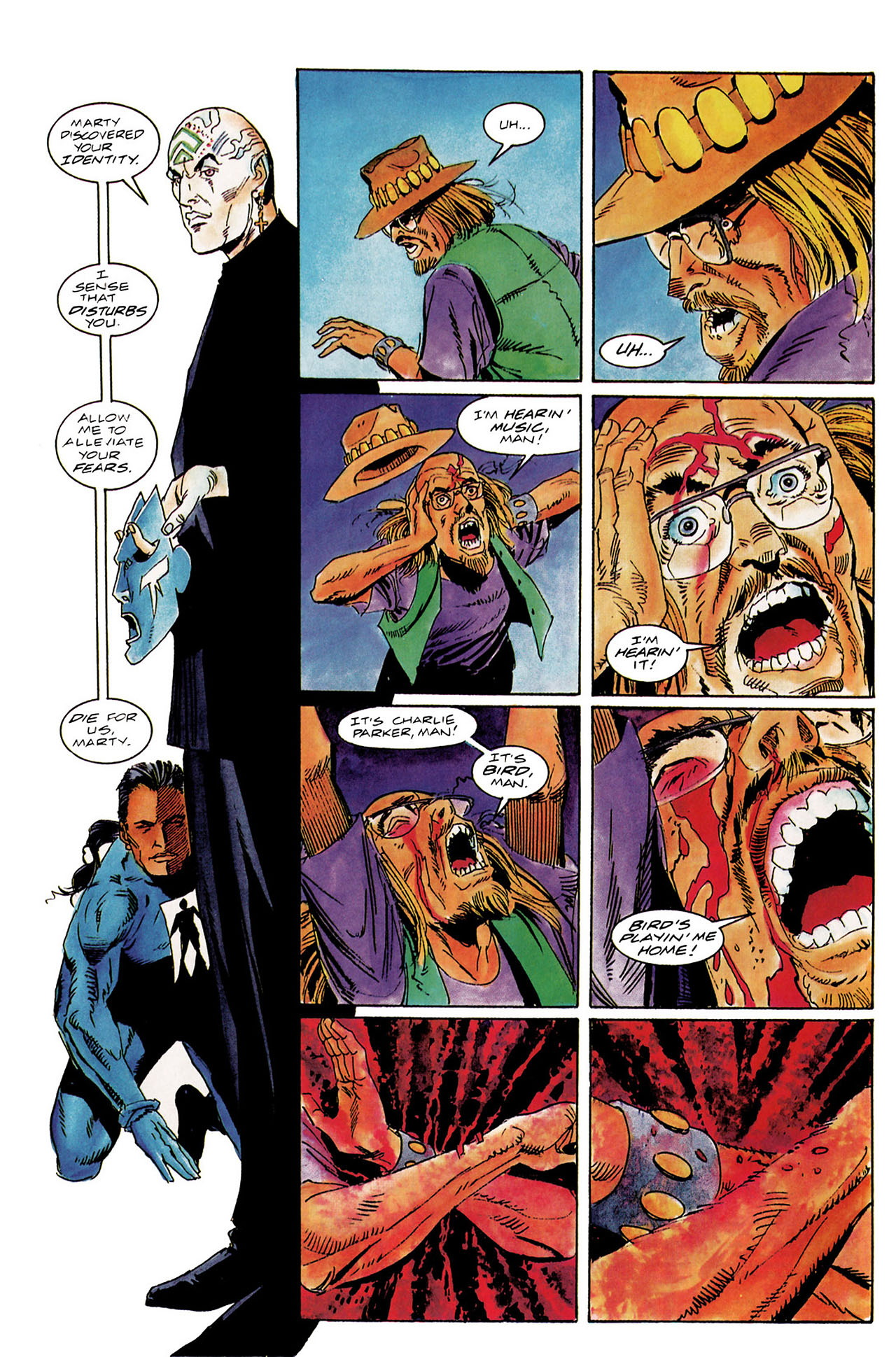 Read online Shadowman (1992) comic -  Issue #10 - 13