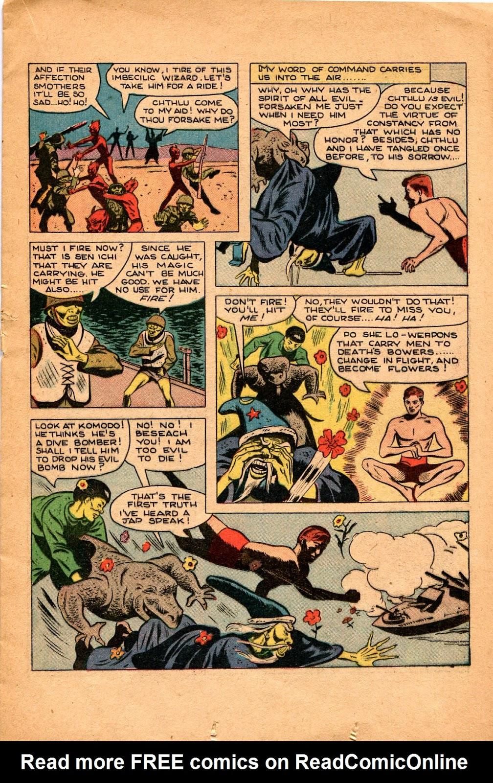 Read online Super-Magician Comics comic -  Issue #34 - 23
