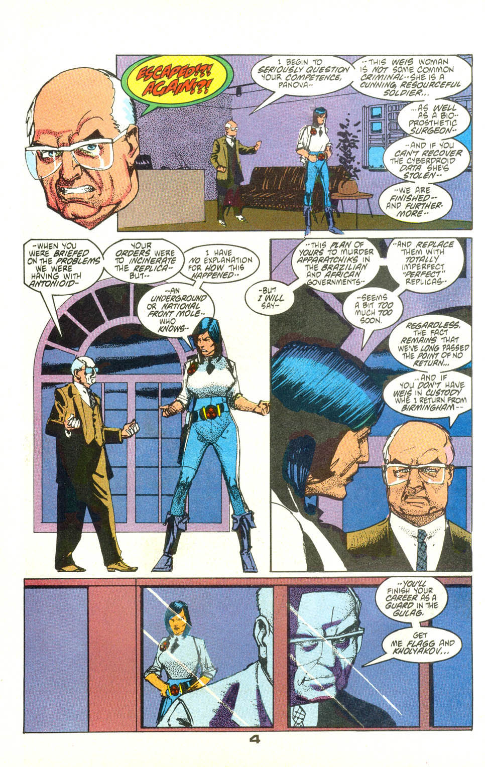 Read online American Flagg! comic -  Issue #25 - 5