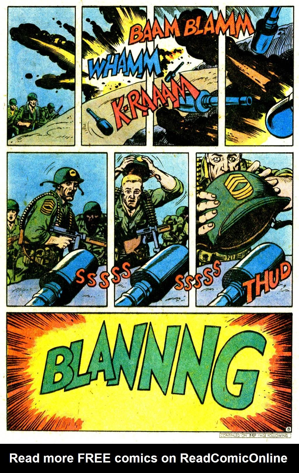 Read online Sgt. Rock comic -  Issue #316 - 12
