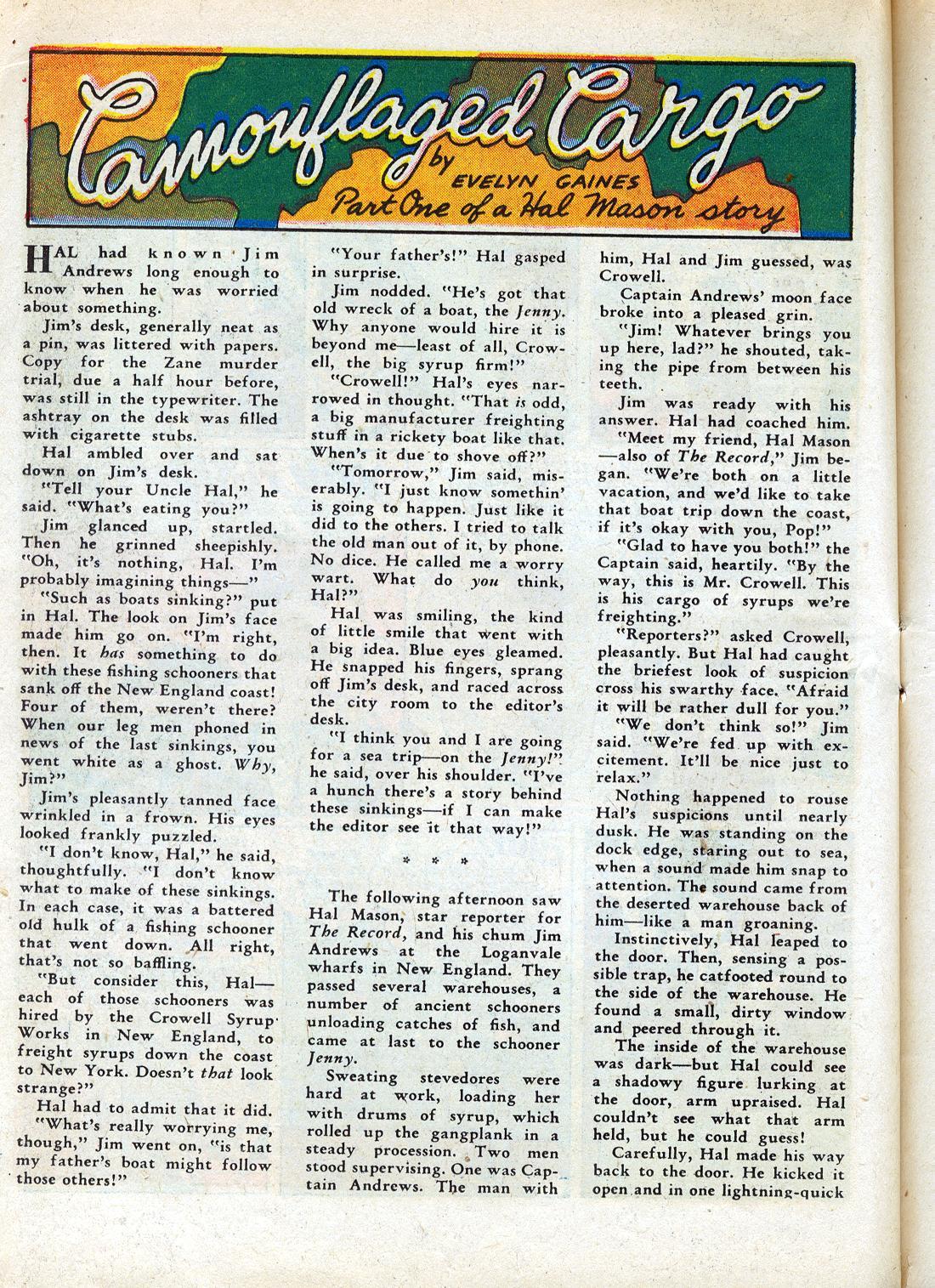 Read online Sensation (Mystery) Comics comic -  Issue #26 - 40