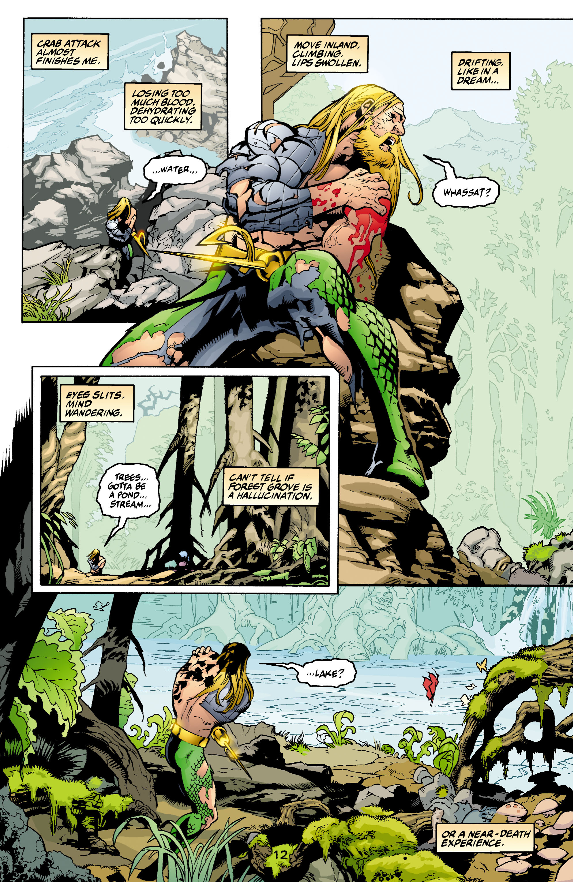 Read online Aquaman (2003) comic -  Issue #1 - 13