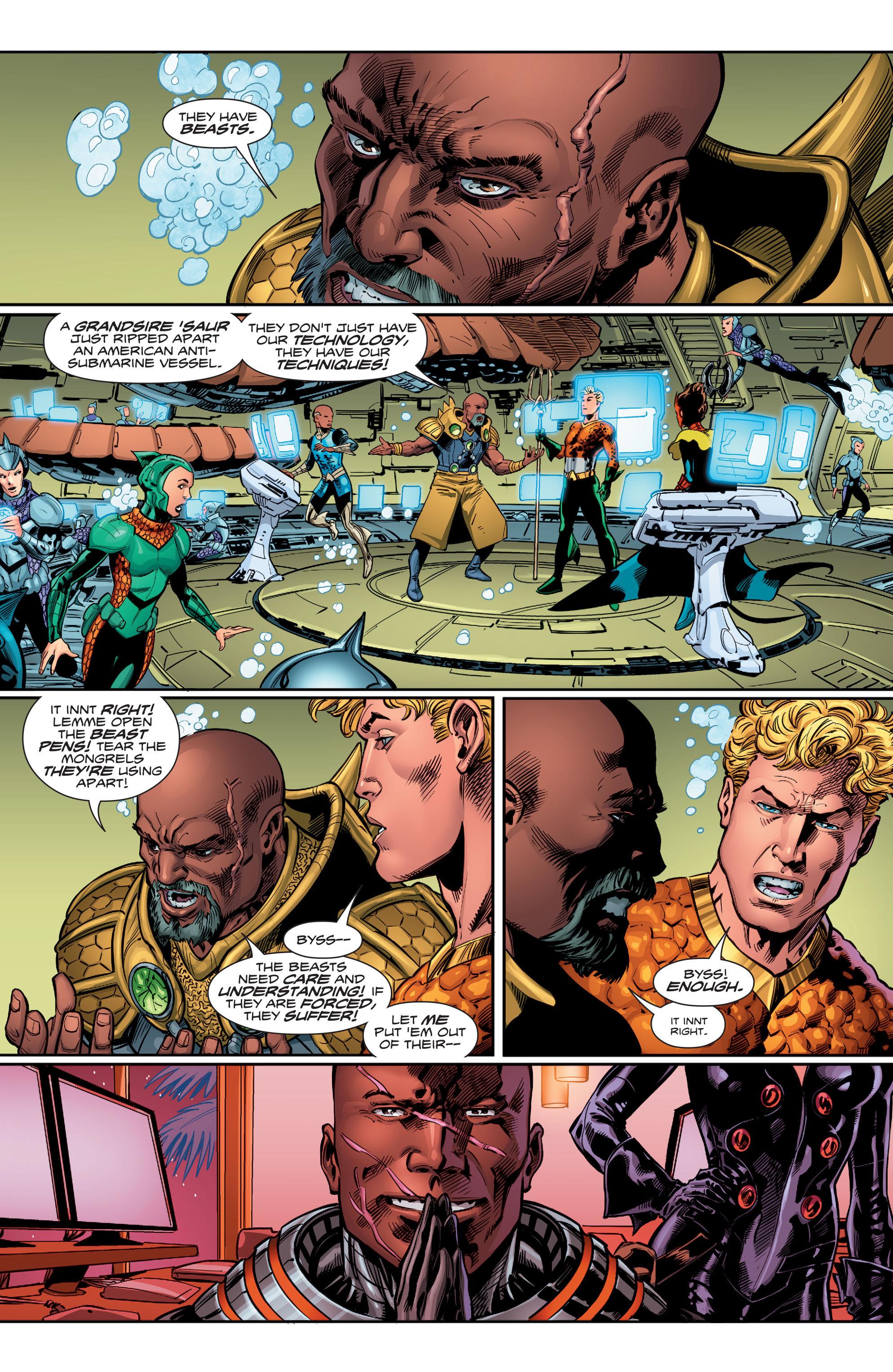Read online Aquaman (2016) comic -  Issue #12 - 20