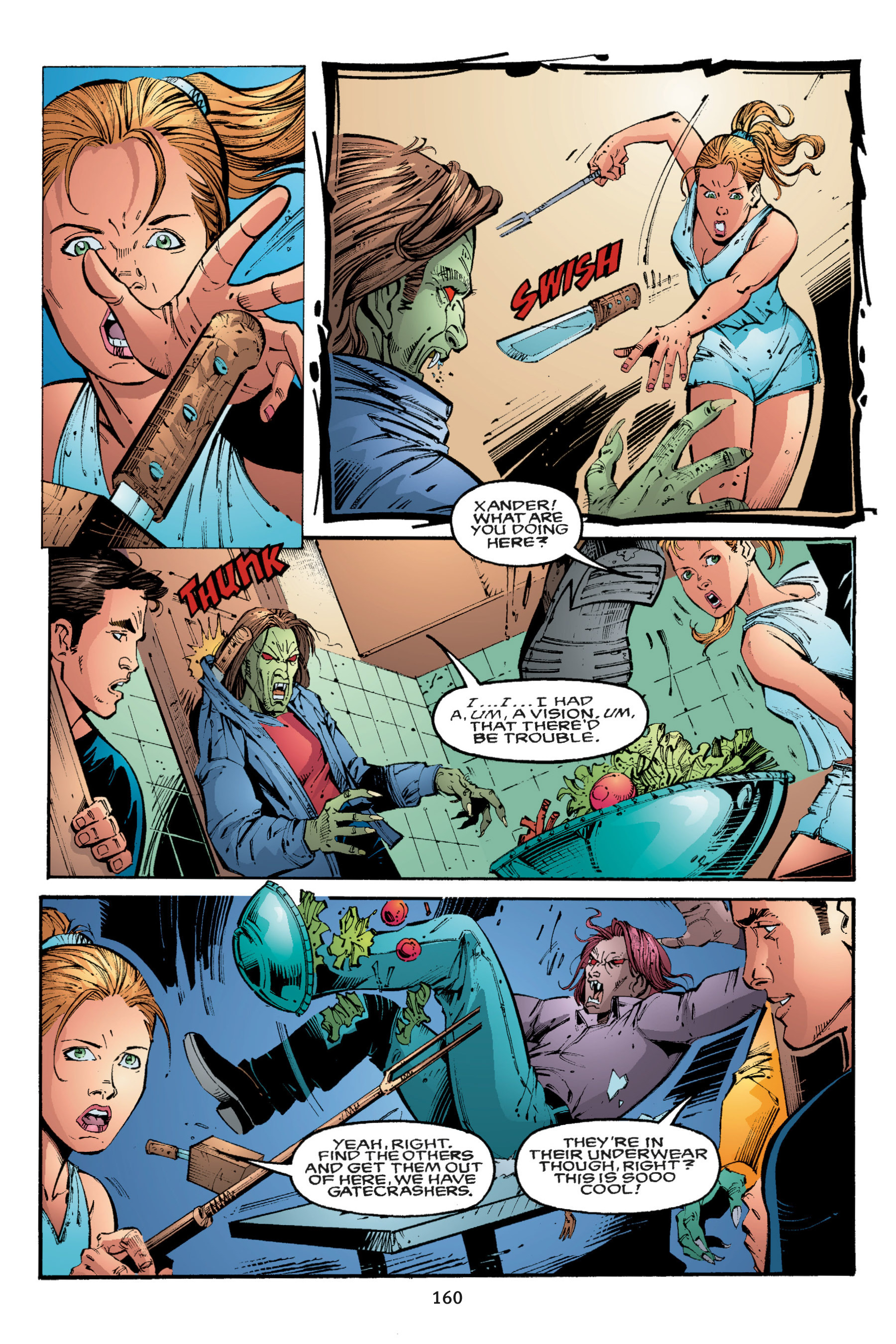 Read online Buffy the Vampire Slayer: Omnibus comic -  Issue # TPB 3 - 155